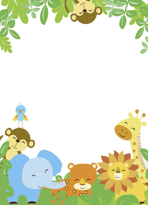 Baby shower safari background clipart vector Best 52+ Baby Zoo Animals Backgrounds on HipWallpaper | Animals ... vector
