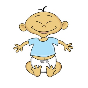 Baby sitting up clipart graphic transparent download Cartoon Baby Sitting Up | Weather Clipart graphic transparent download