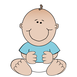Baby sitting up clipart svg black and white Baby boy sitting clipart, cliparts of Baby boy sitting free download ... svg black and white