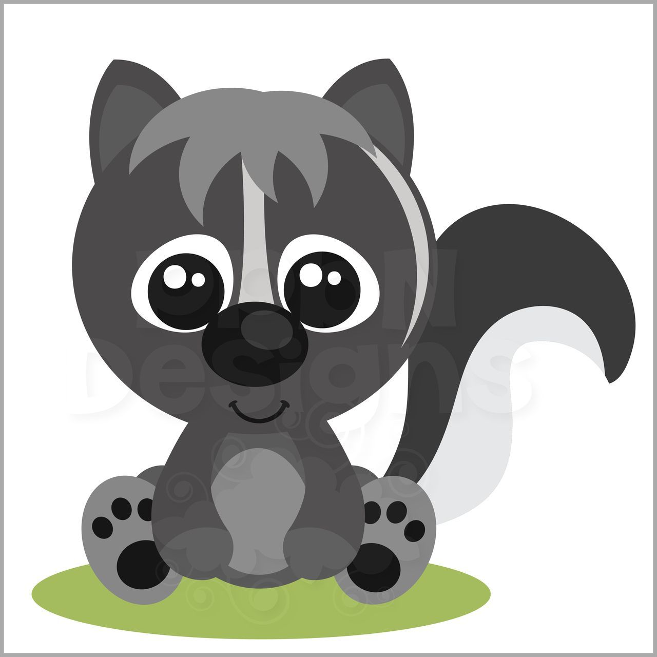 Baby skunk clipart svg royalty free library Baby skunk clipart 7 » Clipart Portal svg royalty free library