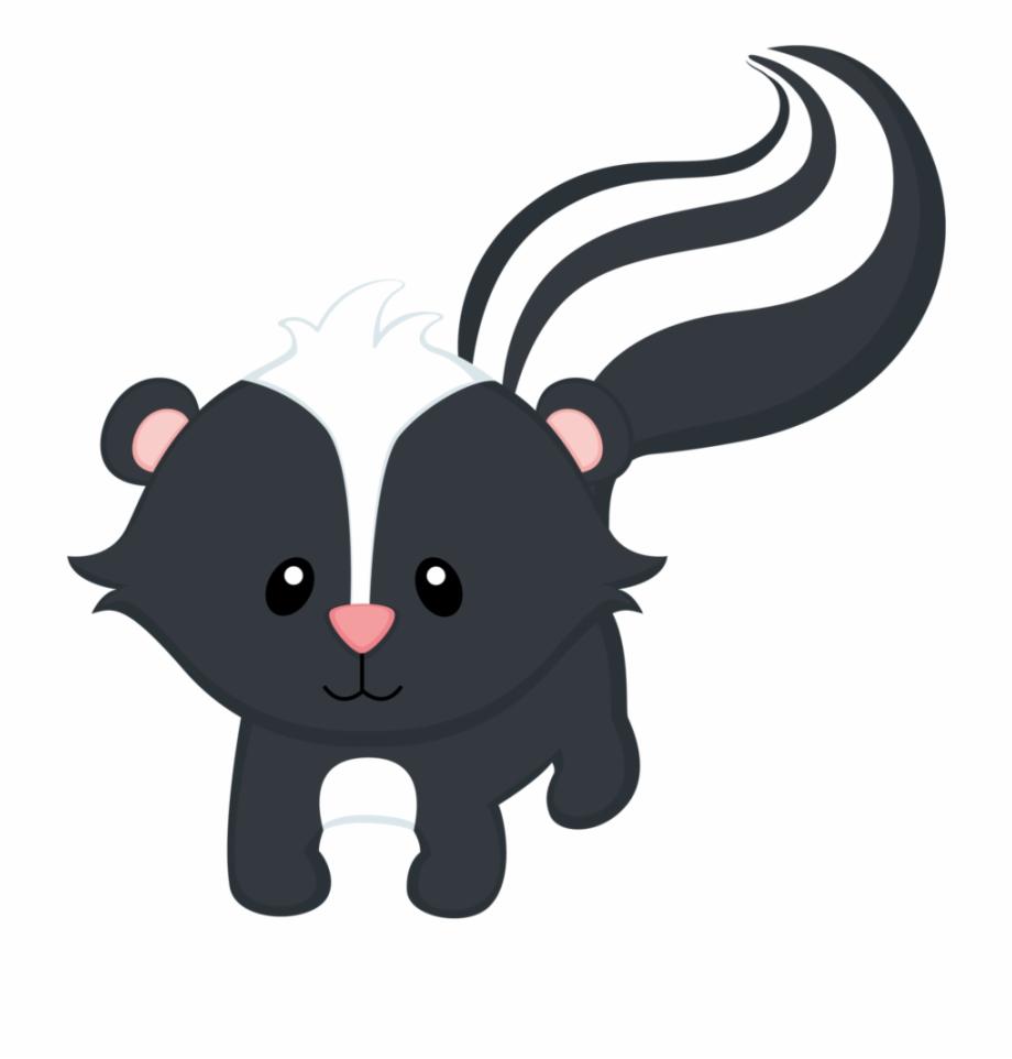 Baby skunk clipart download Woodland Skunk Baby Animals Clipart Free PNG Images & Clipart ... download
