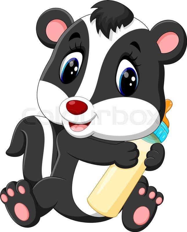 Baby skunk clipart stock Baby skunk clipart 8 » Clipart Portal stock