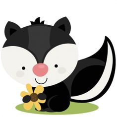 Baby skunk clipart clip free library Free Baby Skunk Cliparts, Download Free Clip Art, Free Clip Art on ... clip free library