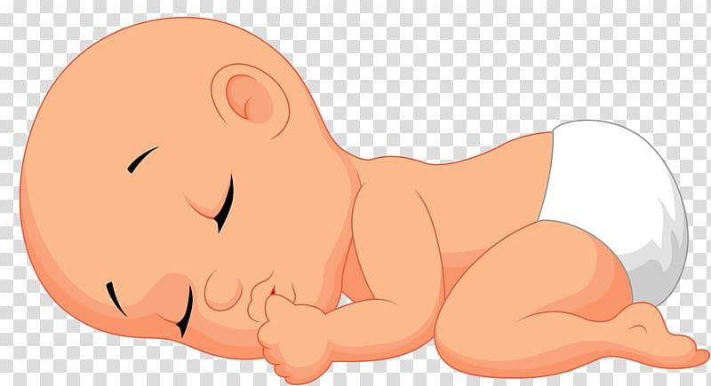 Baby sleep clipart