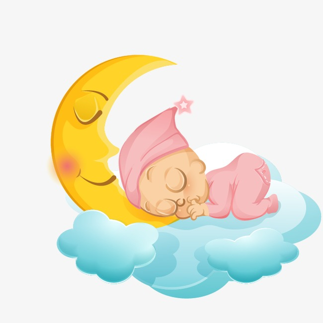 Baby Clipart Sleeping PNG And Vector For Free Download Unique Clip ... picture library stock