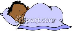African American Baby Shower Clipart | Sleeping African American ... png free