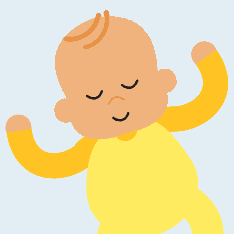 Baby sleeping on back clipart graphic library stock How to reduce the risk of SIDS for your baby - The Lullaby Trust graphic library stock