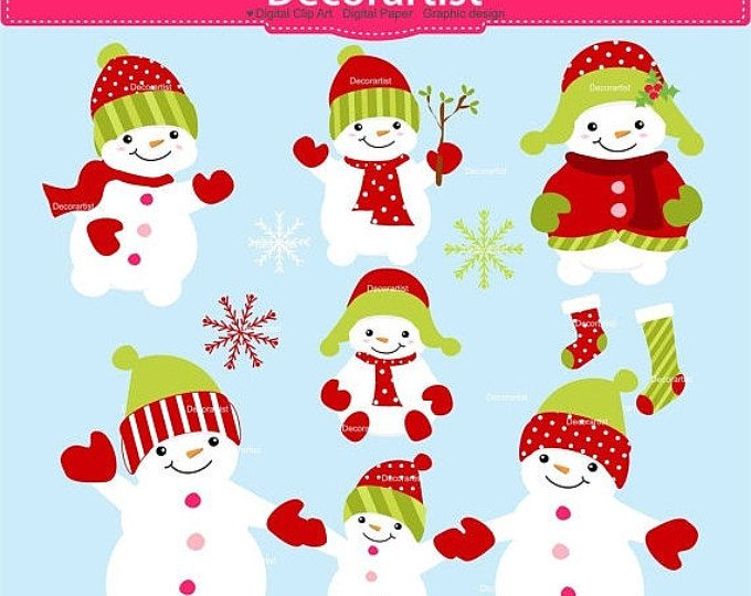 Baby snowman clipart clip art free library ON SALE Christmas clip art, Snowman clip art, Baby snowman Digital ... clip art free library