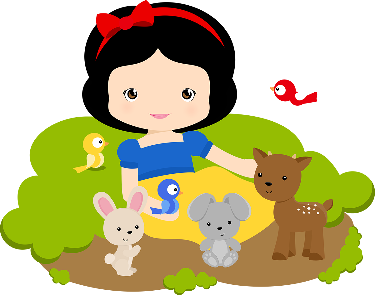 Baby star wars characters clipart graphic library stock Branca de Neve Cute 13 | Imagens PNG | Branca de Neve | Pinterest ... graphic library stock
