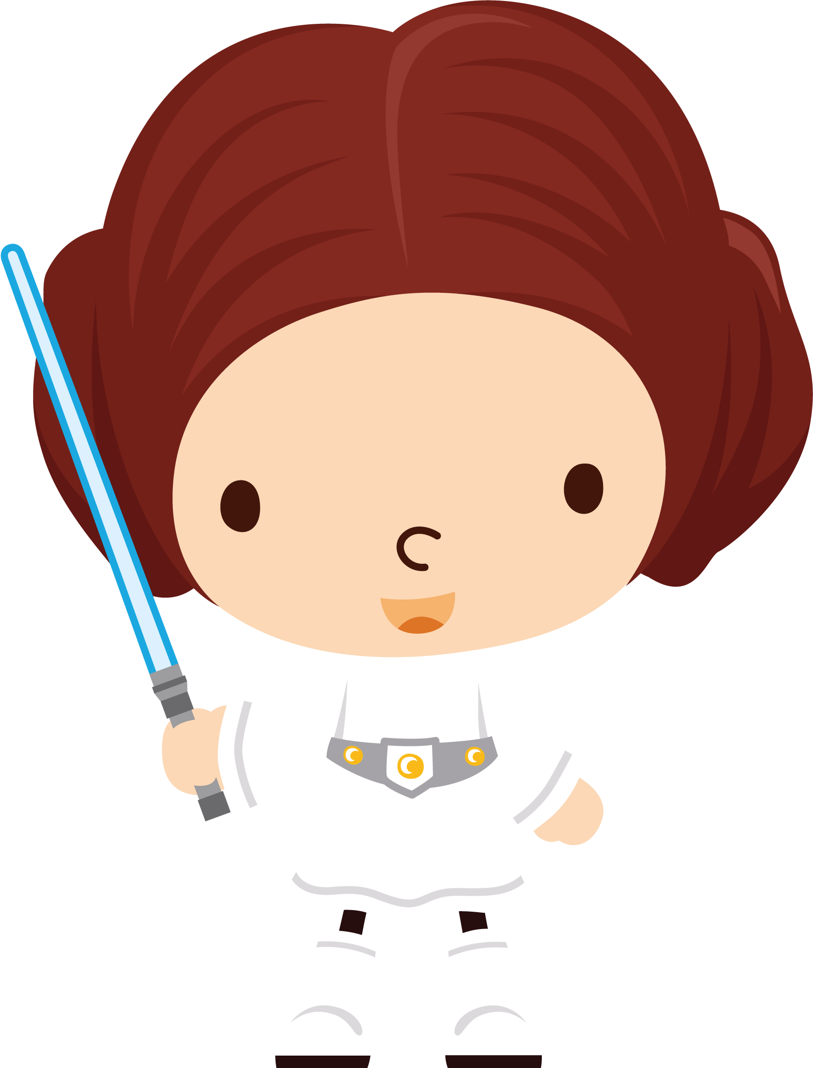 Star wars clipart transparent banner library download orig14.deviantart.net 9790 f 2014 267 0 3 leia_by_chrispix326 ... banner library download