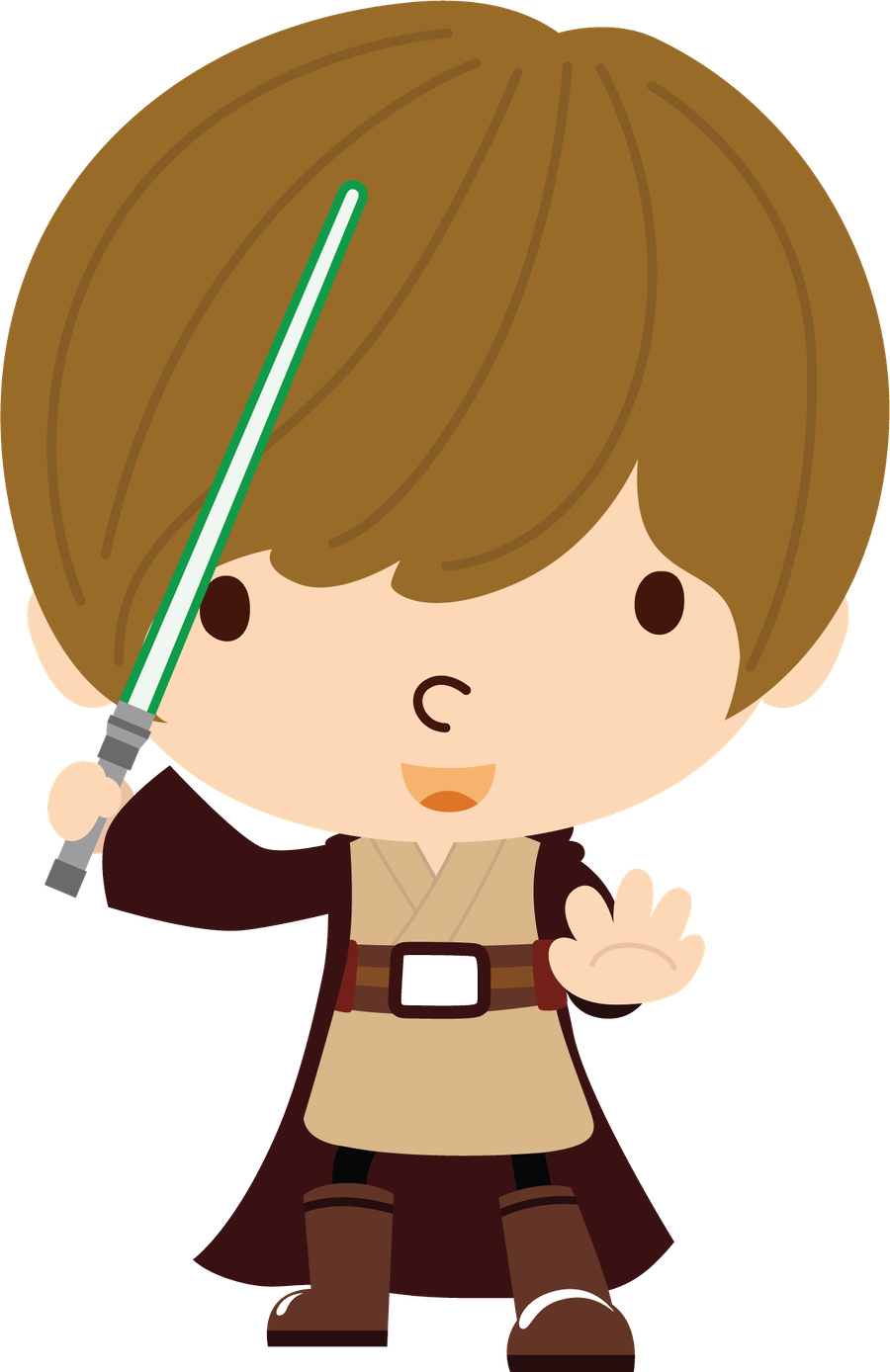 Star wars clipart luke skywalker clip art freeuse Star Wars - Minus | already felt- characters 2 | Pinterest | Star ... clip art freeuse