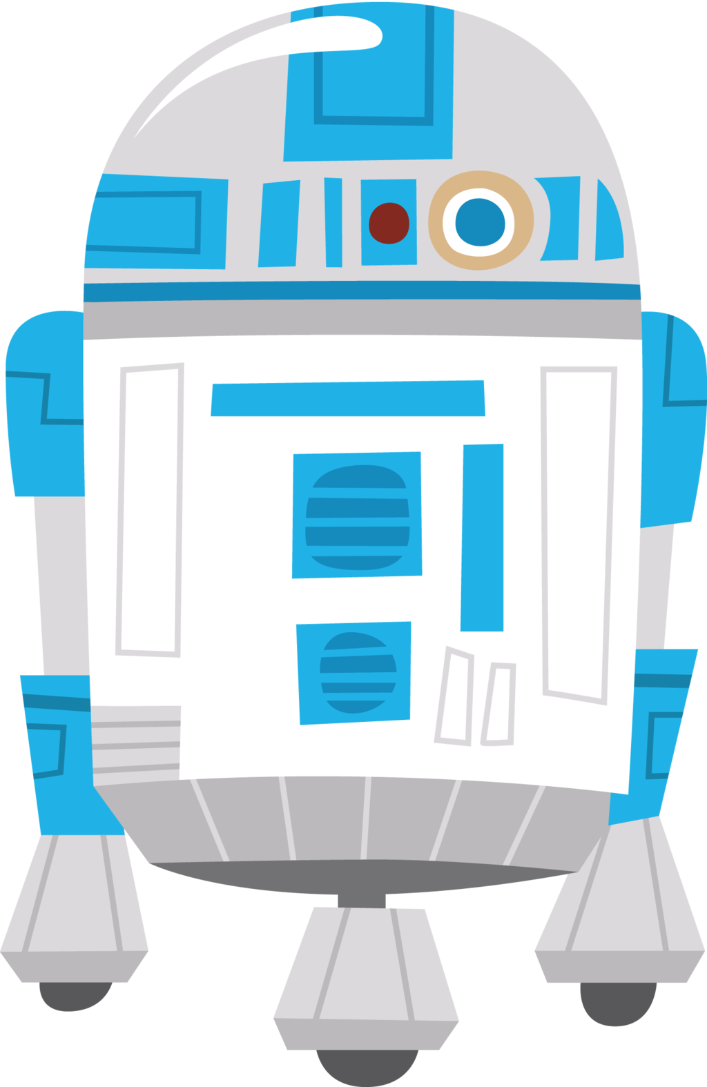 Clipart baby star wars image royalty free stock r2d2 by Chrispix326 on DeviantArt image royalty free stock