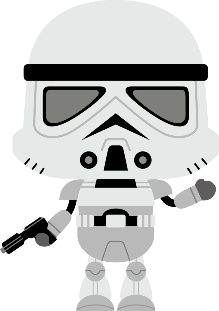 Clipart baby star wars svg black and white Storm Trooper 1 by Chrispix326 on DeviantArt svg black and white
