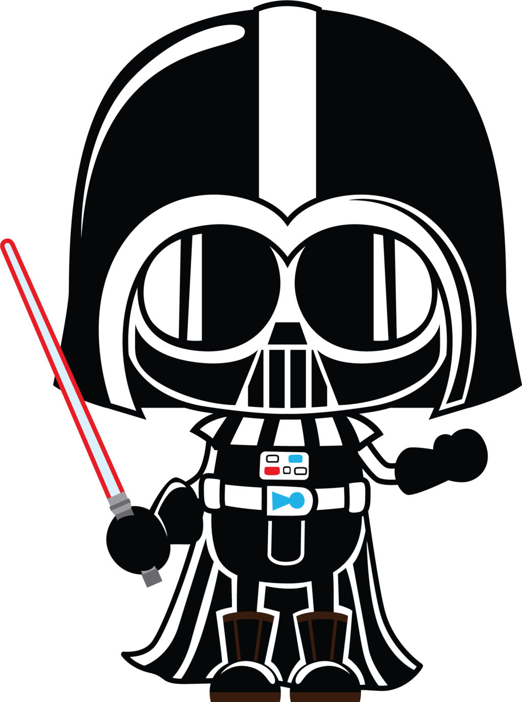 Darth vader by chrispix. Death star clipart