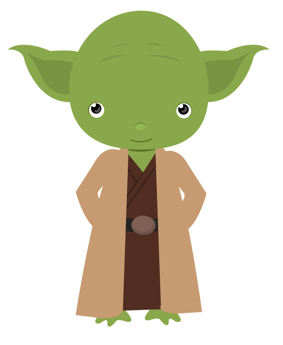 Cute star wars clipart graphic black and white stock Baby Yoda PNG Transparent Baby Yoda.PNG Images. | PlusPNG graphic black and white stock