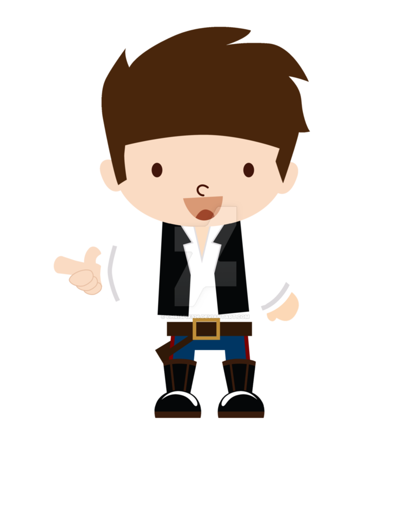 Baby star wars princess leia clipart image Han Solo by Chrispix326 on DeviantArt image