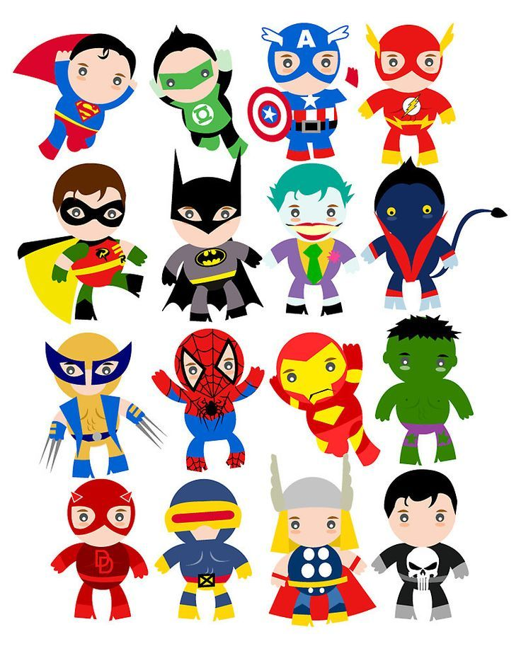 Baby superhero clipart free banner free stock Free superhero party clipart & decoration printables | Superheroes ... banner free stock