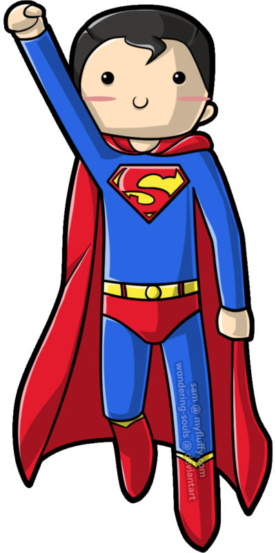 Baby superman clipart picture transparent library Cute Superman Clipart - Clipart Kid picture transparent library