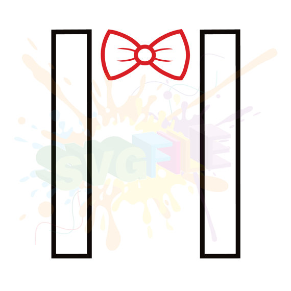 Suspenders and bow tie clipart png library stock Suspenders Clipart | Free download best Suspenders Clipart on ... png library stock