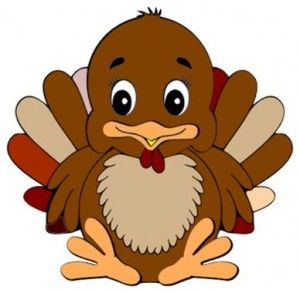 Baby thanksgiving clipart