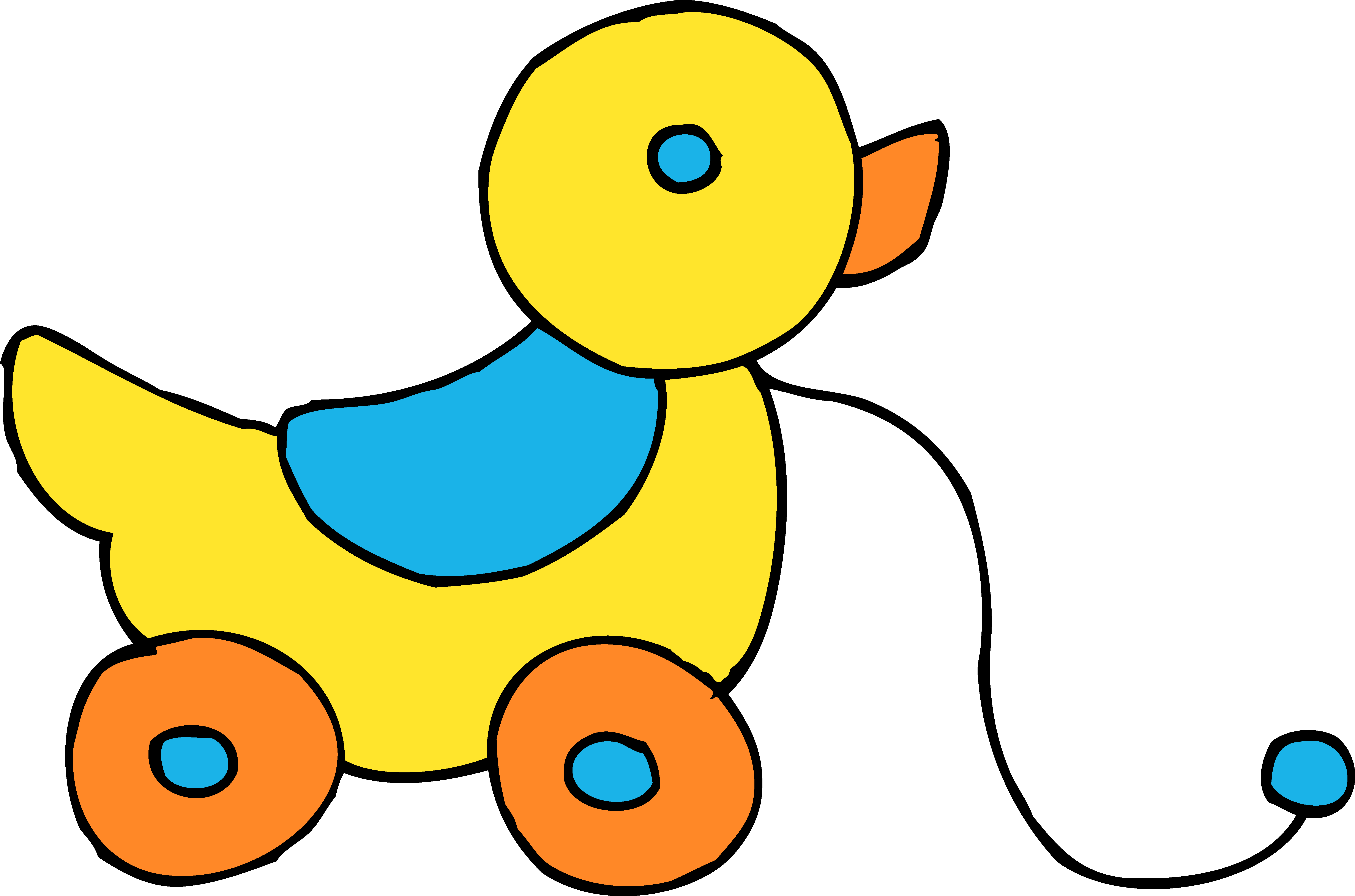 Duck toy clipart svg royalty free Baby Toys Clipart   Free download best Baby Toys Clipart on ... svg royalty free
