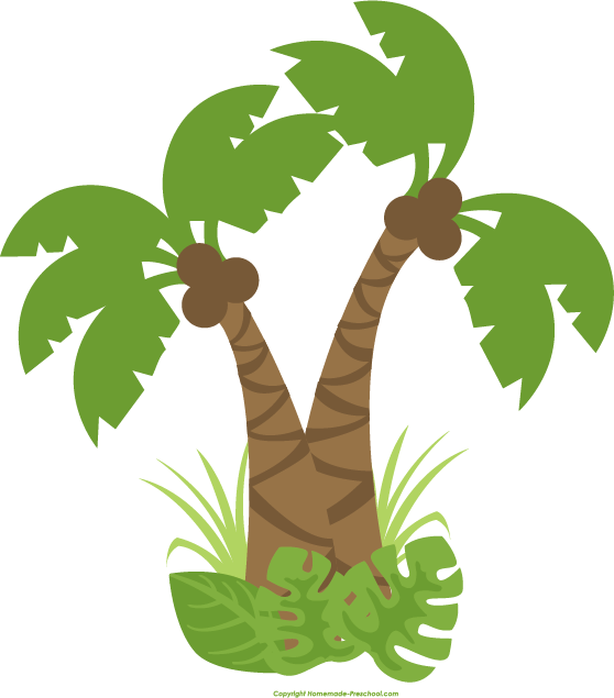 Cute tree clipart royalty free stock Jungle Tree Clipart royalty free stock