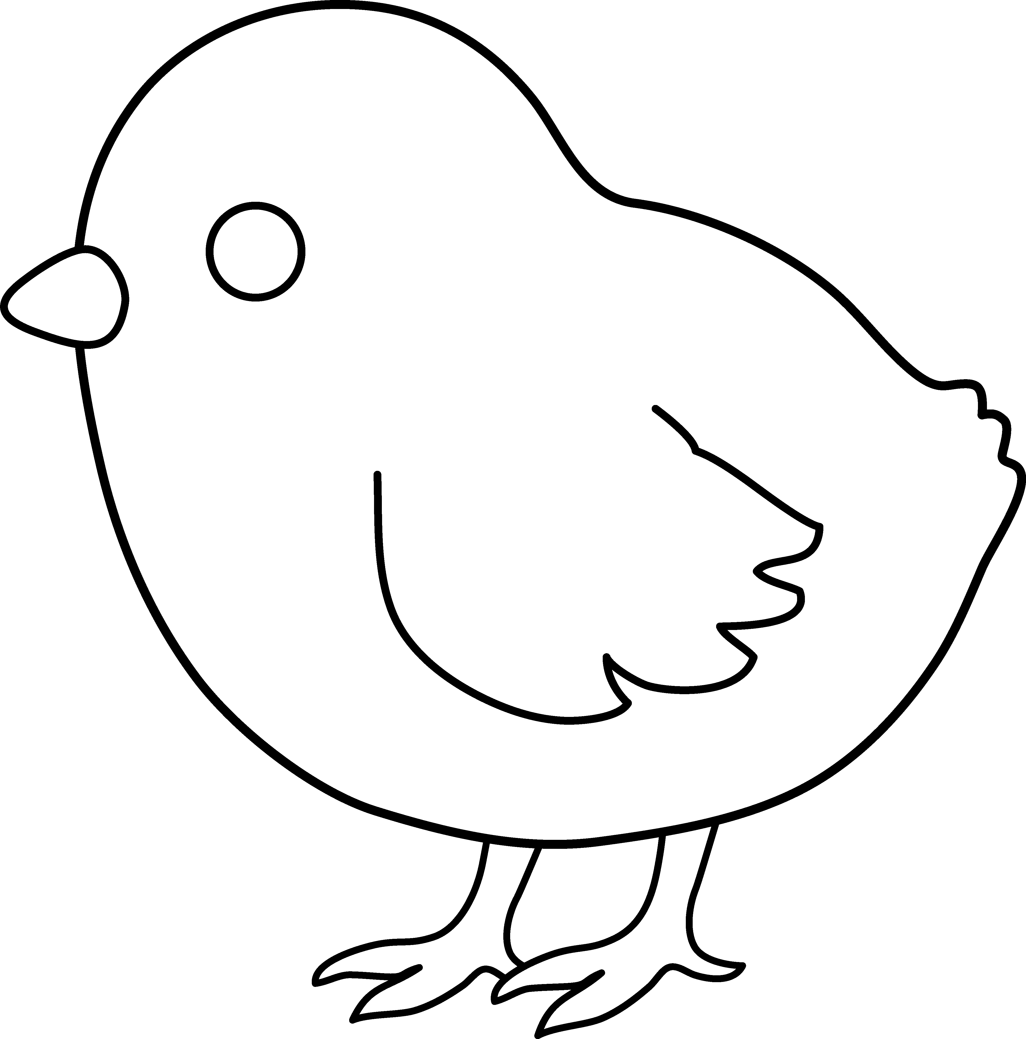 Cute free black and white sun clipart graphic freeuse download Baby Chicken Clipart Black And White | Clipart Panda - Free Clipart ... graphic freeuse download