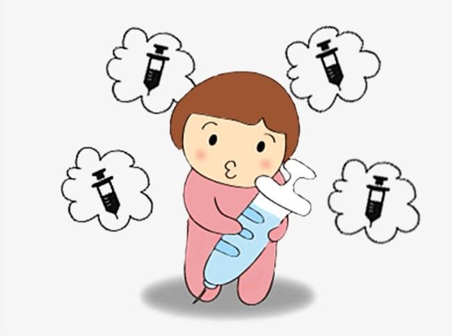 Baby vaccine clipart