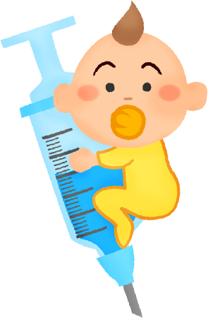 Baby vaccine clipart image freeuse download Flu shot / Vaccination for babies | Free Clipart Illustrations ... image freeuse download