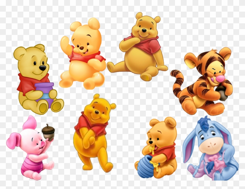 Winnie Pooh Bebe Png - Winnie The Pooh And Friends Baby, Transparent ... png library download