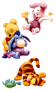 Com and friends with. Free baby winnie the pooh clipart