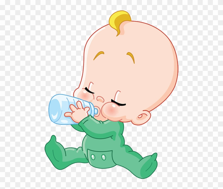 Baby with a bottle clipart graphic freeuse library Drinking Clipart Bottleclip - Baby Drinking Bottle Clipart - Png ... graphic freeuse library