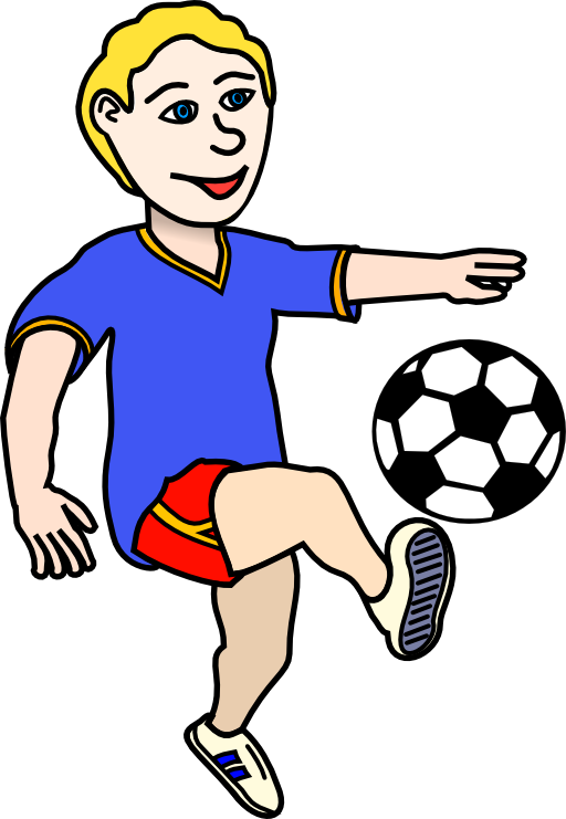 Baby with football clipart free library 28+ Collection of Boy Playing Football Clipart | High quality, free ... free library