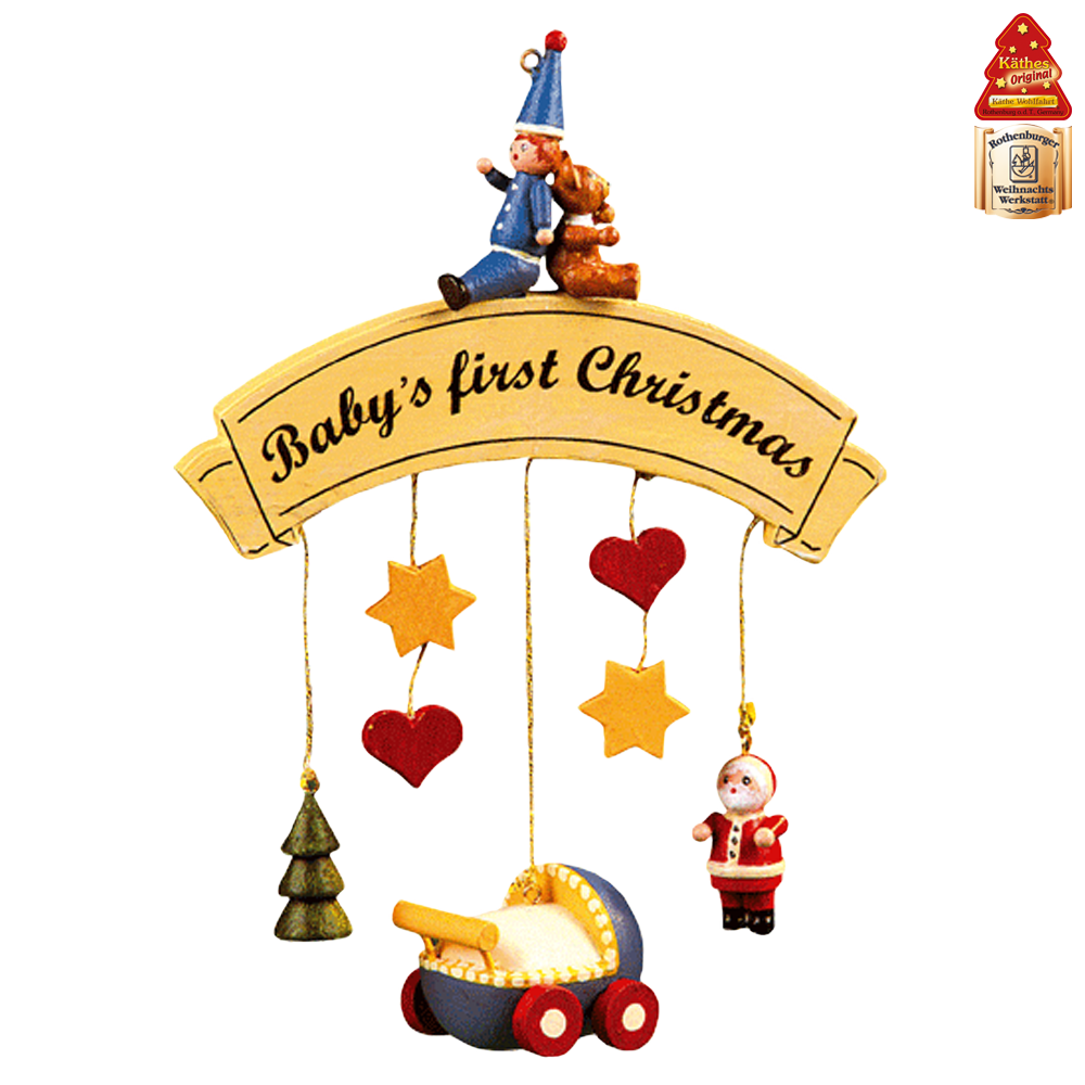 Baby's first christmas clipart svg library download Käthe Wohlfahrt - Online Shop | Baby's first Christmas | Rothenburg ... svg library download