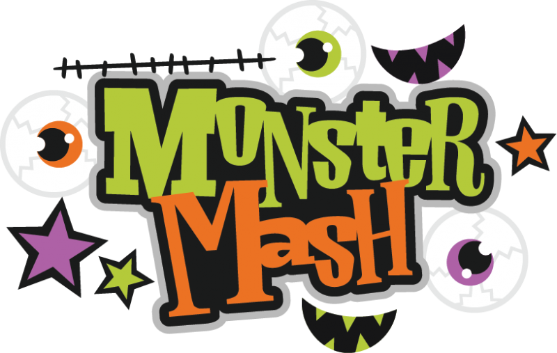 Happy halloween clipart font jpg royalty free stock MONSTER MASH * | CLIP ART - MONSTERS - CLIPART | Pinterest | Monster ... jpg royalty free stock