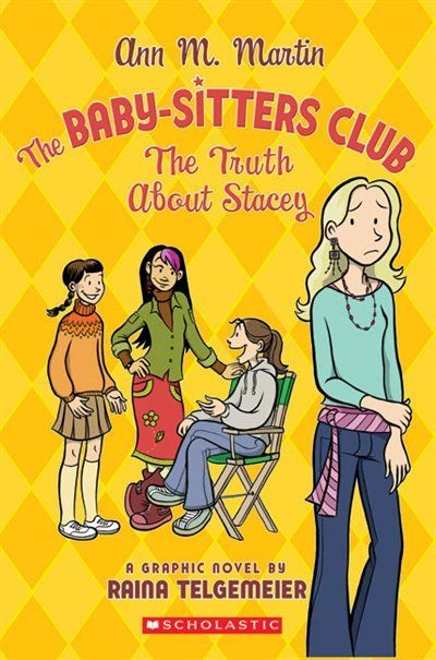Babysitter club clipart image royalty free download The Baby-Sitters Club Graphic Novel #2: The Truth About Stacey: Bsc ... image royalty free download