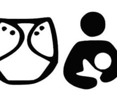 Babywearing clipart banner black and white download 29 Best diaper art images in 2016 | Clip art, Hand sanitizer, Vector art banner black and white download