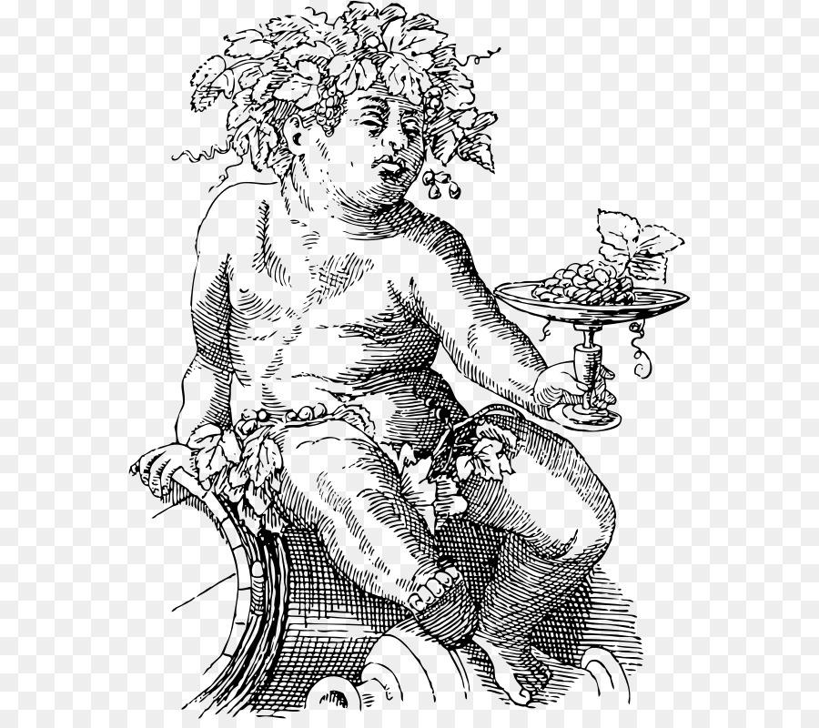 Bacchus clipart image Tree Sketch clipart - Wine, Art, Cartoon, transparent clip art image