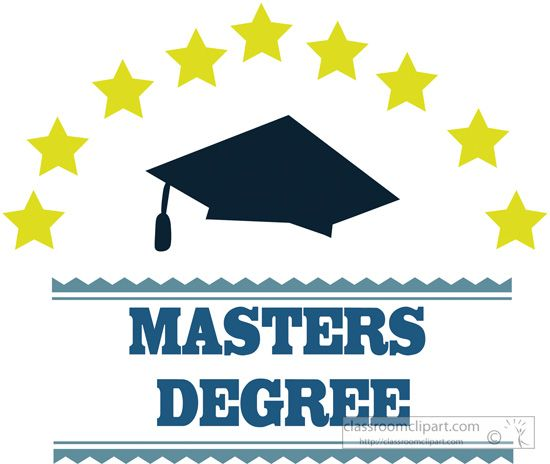Gallery For > Masters Degree Clipart | Gift ideas in 2019 | Online ... vector free library