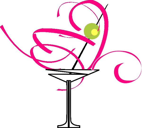 Bachelorette clipart png transparent library Bachelorette Clipart Martini Glass Clip Art At Clker Vector Clip Art ... png transparent library