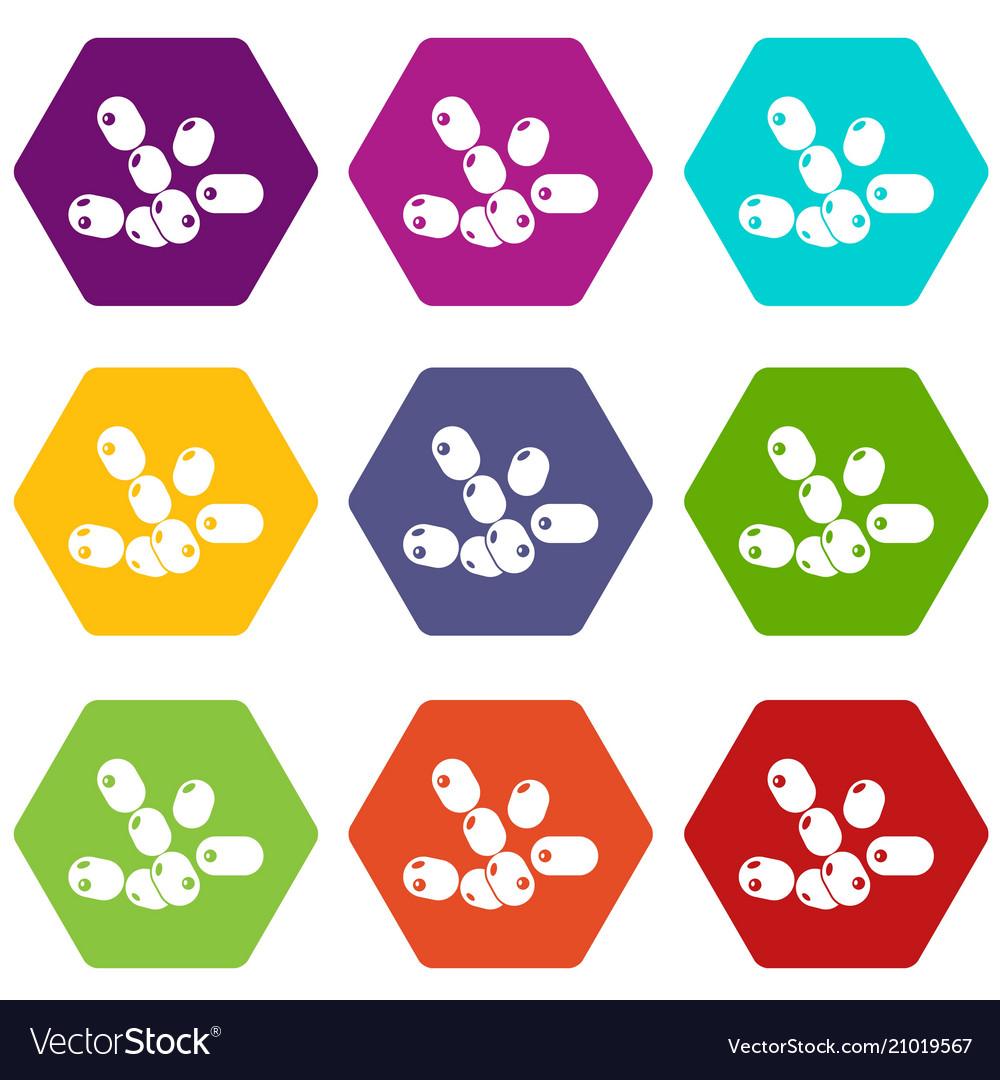 Bacilli clipart clip art Coccus bacilli icons set 9 clip art