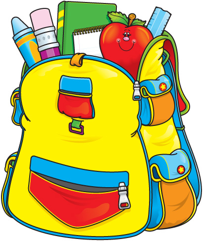 Bacjpack clipart graphic freeuse School Backpack Clipart | Clipart Panda - Free Clipart Images graphic freeuse