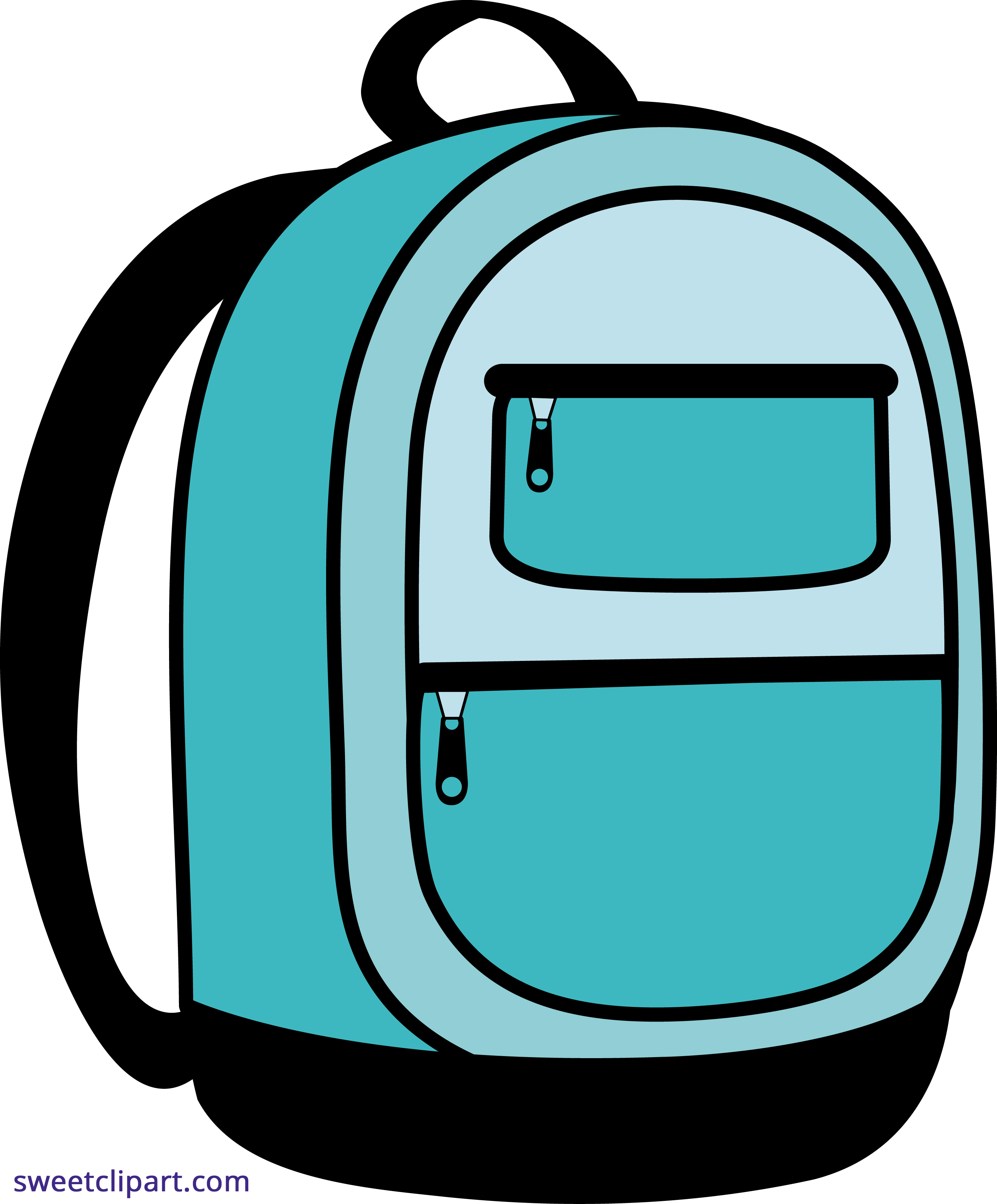 Bacjpack clipart png freeuse stock Blue School Backpack Clipart - Sweet Clip Art png freeuse stock