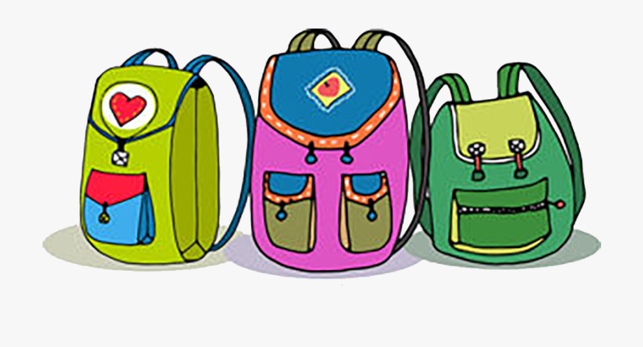 Bacjpack clipart jpg free library Backpack Clipart Png - Kids With Backpacks Clipart #120036 - Free ... jpg free library