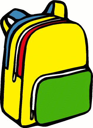 Bag clipart clipart freeuse download School Backpack Clipart | Clipart Panda - Free Clipart Images clipart freeuse download