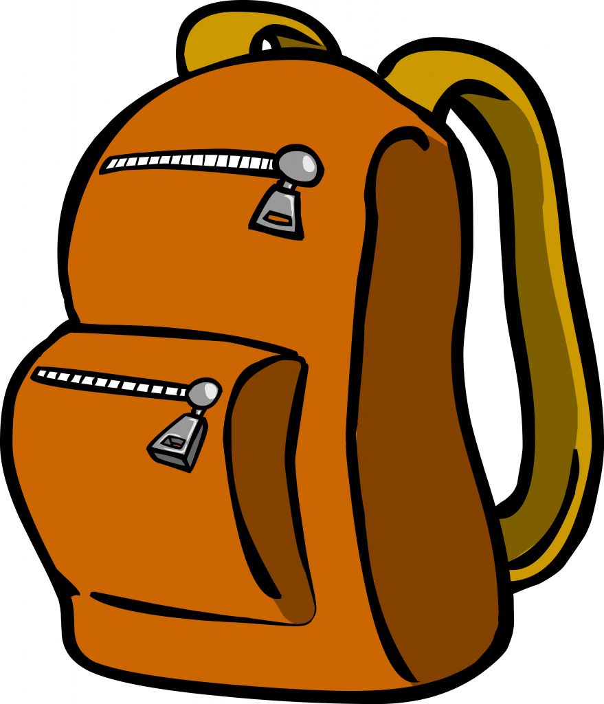 Clipart of a snack in a backpack clip art free library Best Backpack Clipart #11114 - Clipartion.com clip art free library