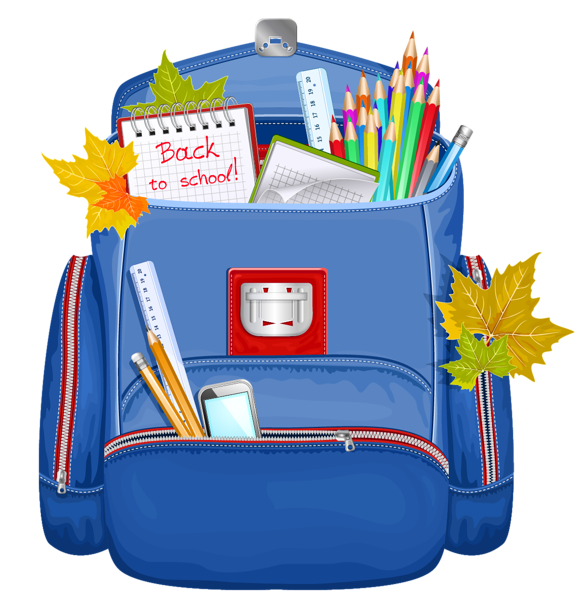 School bags clipart clip freeuse stock Blue School Backpack PNG Clipart | Graphics | Pinterest | School ... clip freeuse stock