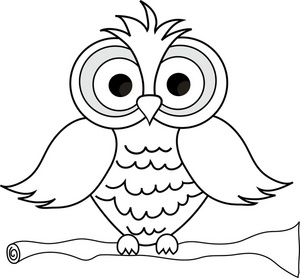 Clipart owl black and white black and white stock 18+ Black And White Owl Clipart | ClipartLook black and white stock