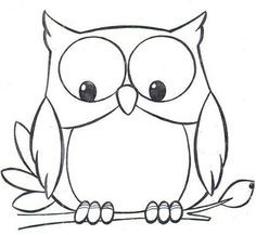 Free owl clipart black and white clipart Black and white owl clipart 4 » Clipart Portal clipart