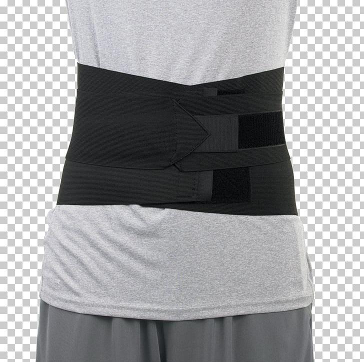 Back brace clipart svg black and white download Lumbar Waist Back Brace Human Back Low Back Pain PNG, Clipart ... svg black and white download